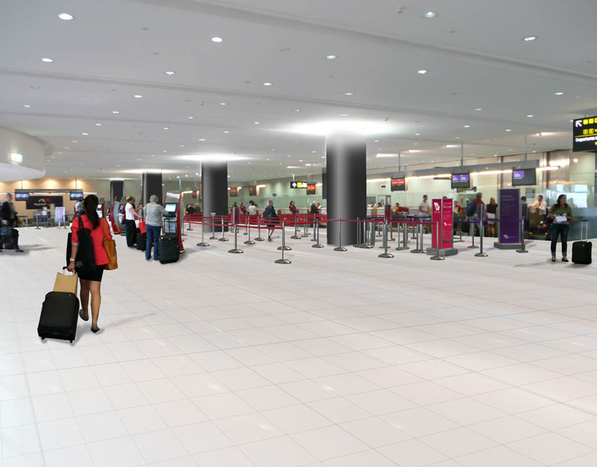 Melbourne Airport—T3 Refurbishment